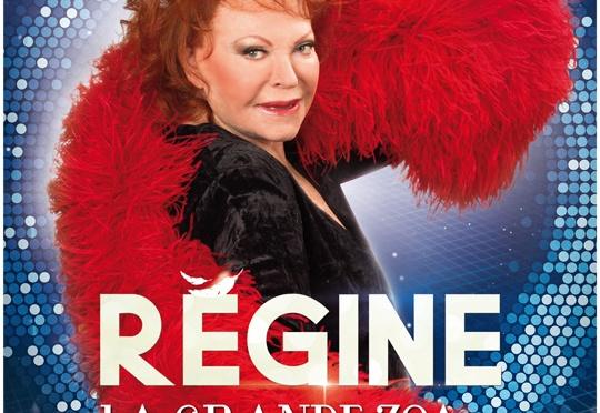 Régine – L'affiche du spectacle @Paris