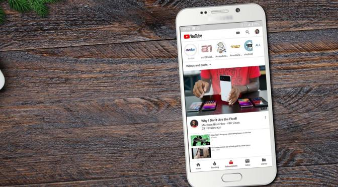 Youtube lance les stories