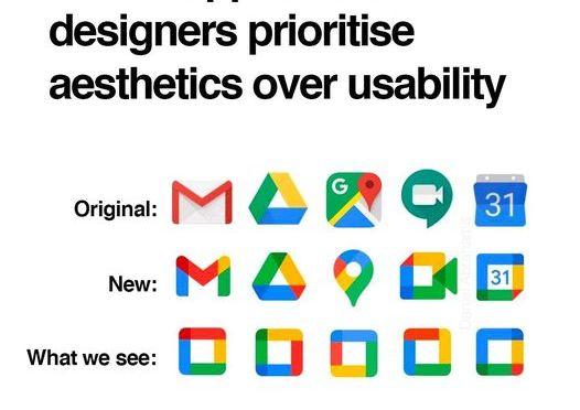 Comprendre les nouveaux logo de la suite Google